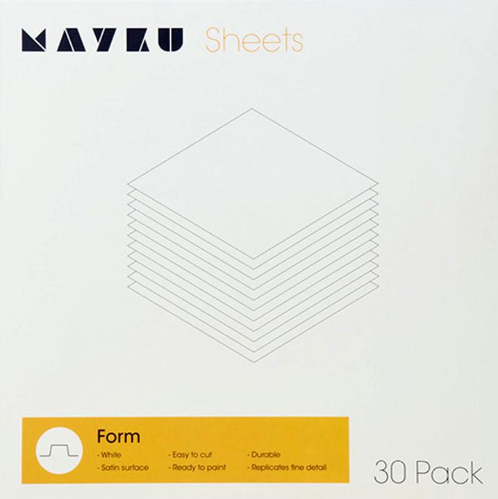 30 Mayku Extruded High Impact Polystyrene Sheets