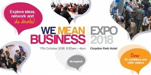 We Mean Business Expo, Croydon 2018