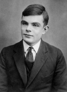 Alan Turing Computer Science Pioneer.