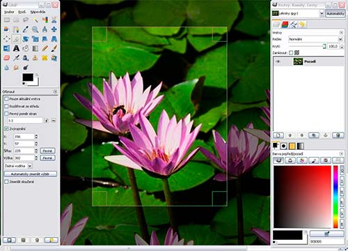 Gimp is free software for editing photos and images on Windows, Mac and Linux computers